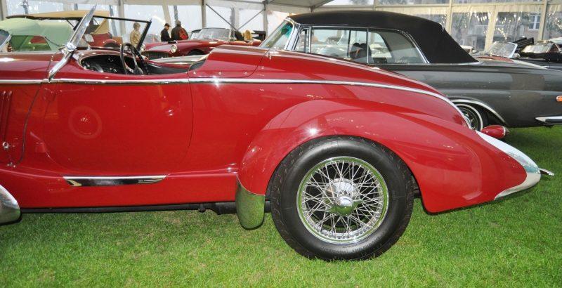 Video Walk-Around + 33 Photos -- 1935 Amilcar G36 Pegasé Boattail Roadster -- RM Auctions Amelia 2014 $467k 28