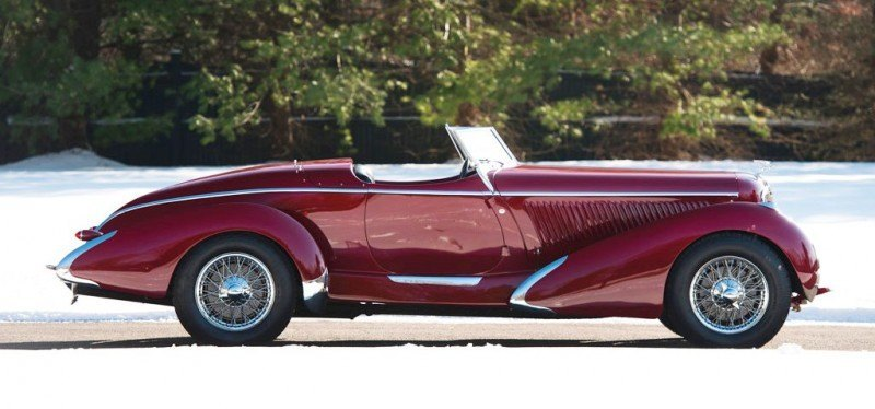 Video Walk-Around + 33 Photos -- 1935 Amilcar G36 Pegasé Boattail Roadster -- RM Auctions Amelia 2014 $467k 5