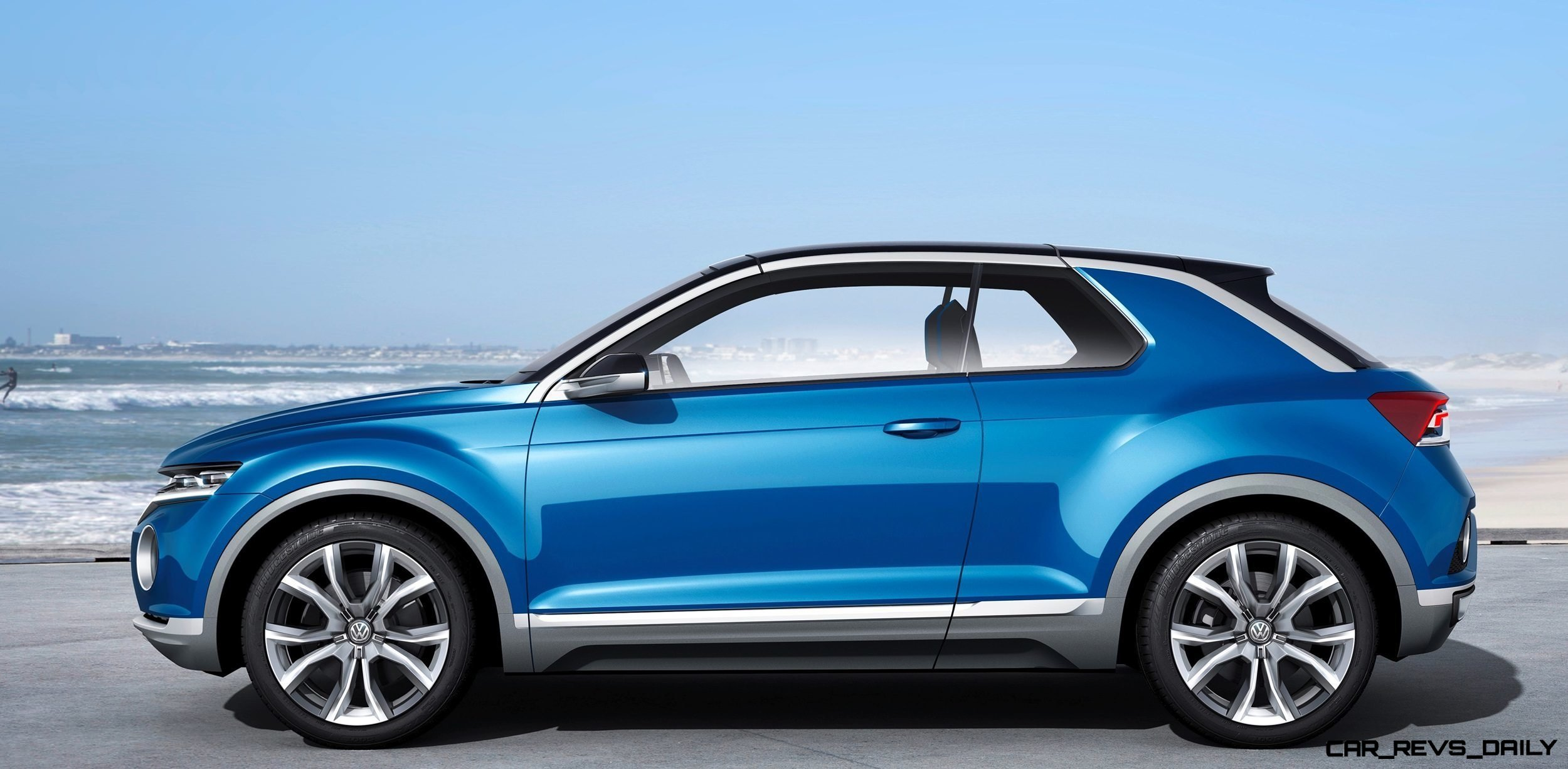 Volkswagen T-ROC Concept in 22 High-Res Images -- A Baja Coupe That Cleans Up Nicely for Saturday Nights in Town 10