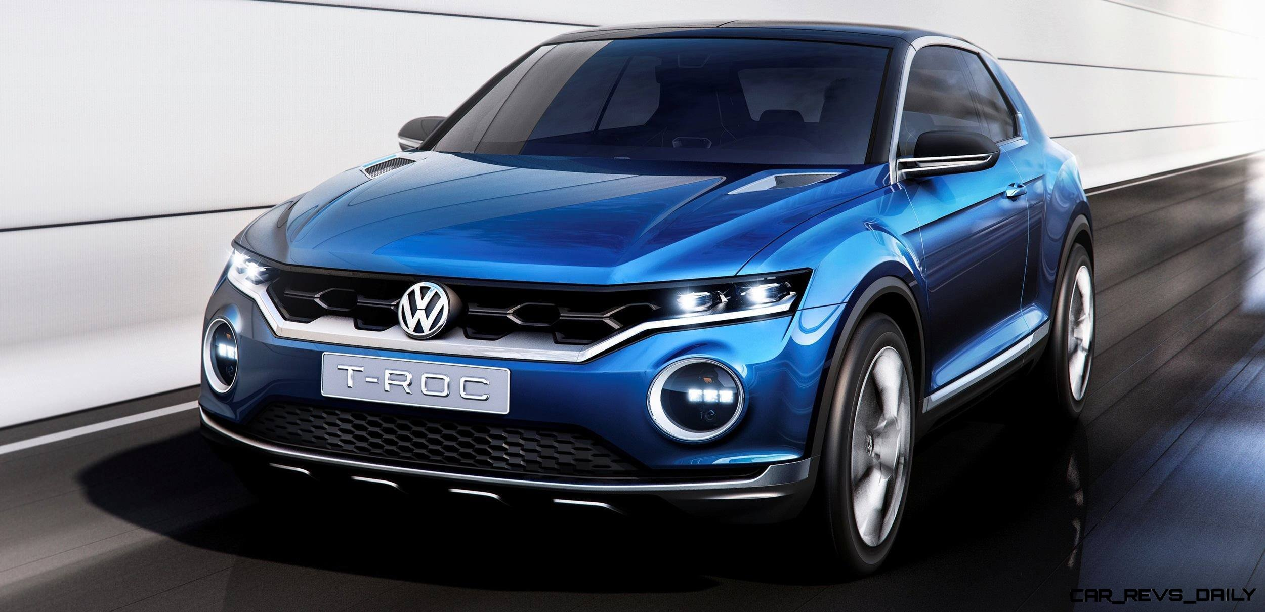 Volkswagen T-ROC Concept in 22 High-Res Images -- A Baja Coupe That Cleans Up Nicely for Saturday Nights in Town 3