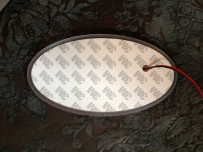 subaru DIY LED badge - indoor testing - emblem comparisons_8072289100_l