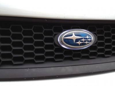 subaru legacy gt DIY led headlights and emblem_8211194533_l