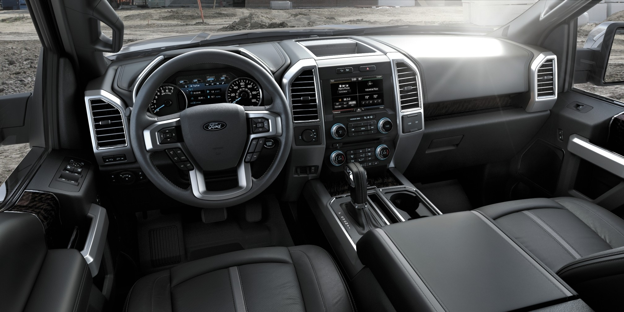 pens and business cards 2015 ford f 150 almost unbelieveably new interior - Ford Torino 2015 Interior