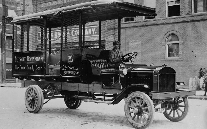 1912-GMC-Truck-Chassis-with-Custom-Beverage-Delivery-Body