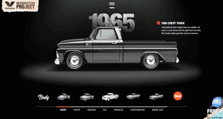 1965 VALVOLINE Reinvention Chevy Truck GIF1