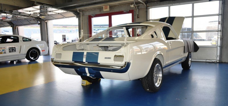 1966 Shelby Mustang GT350 Racecar Awaits Engine Buildout at Charlotte Motor Speedway 1