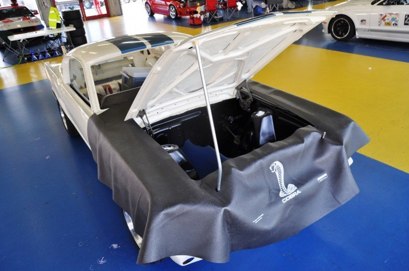 1966 Shelby Mustang GT350 Racecar Awaits Engine Buildout at Charlotte Motor Speedway 10