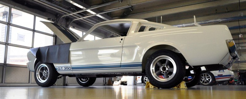 1966 Shelby Mustang GT350 Racecar Awaits Engine Buildout at Charlotte Motor Speedway 17