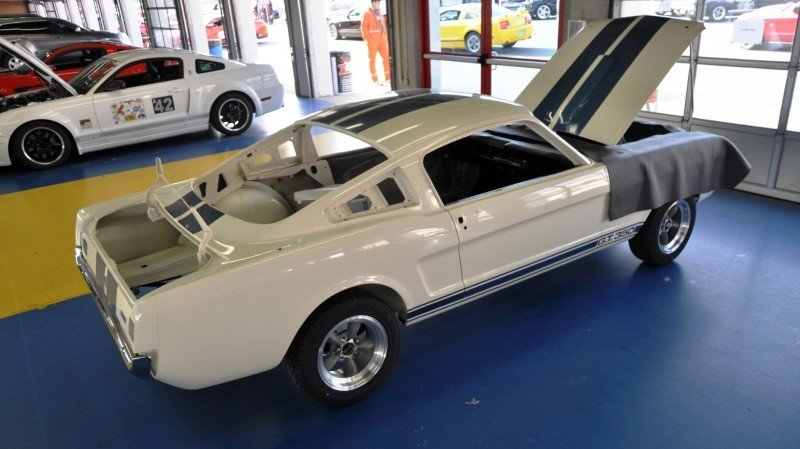 1966 Shelby Mustang GT350 Racecar Awaits Engine Buildout at Charlotte Motor Speedway 3
