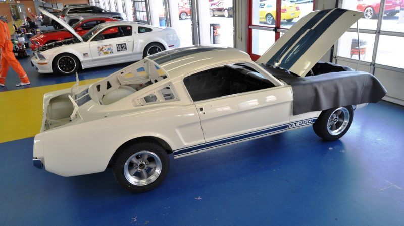 1966 Shelby Mustang GT350 Racecar Awaits Engine Buildout at Charlotte Motor Speedway 4
