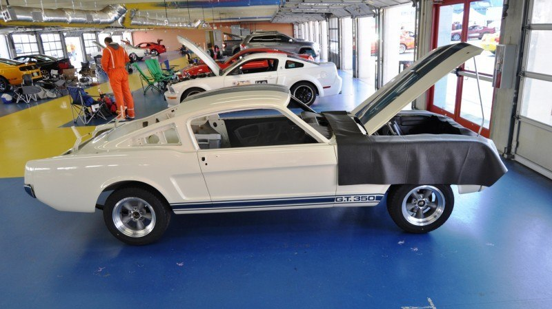 1966 Shelby Mustang GT350 Racecar Awaits Engine Buildout at Charlotte Motor Speedway 5