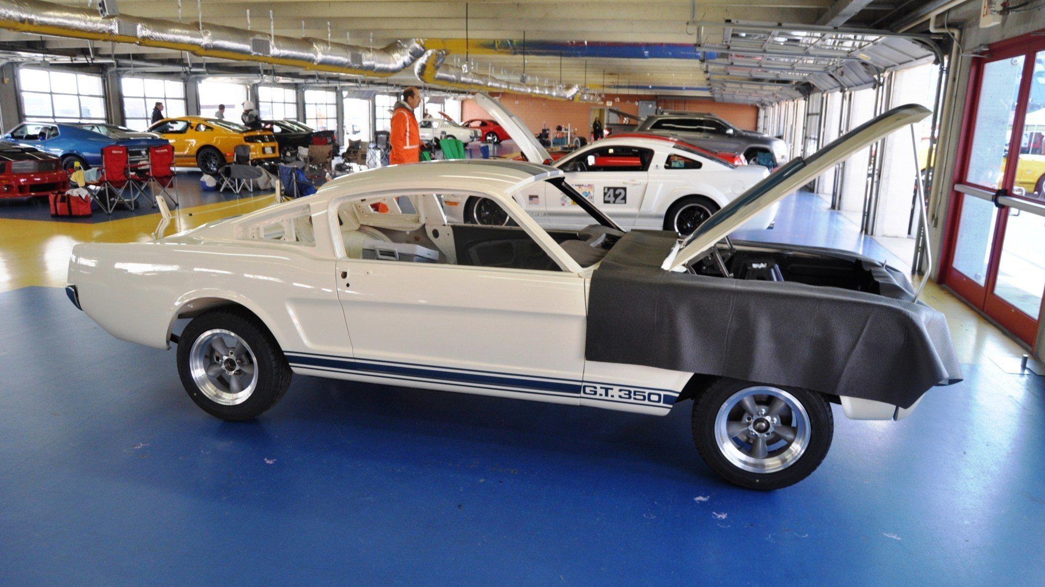 1966 Shelby Mustang Gt350 Racecar