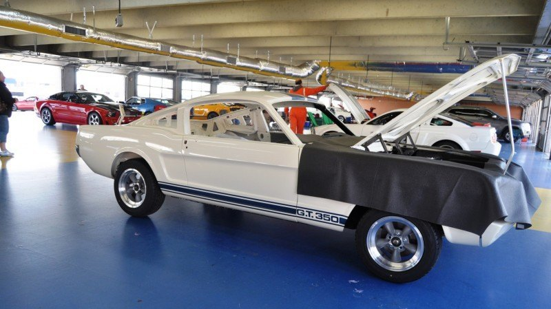 1966 Shelby Mustang GT350 Racecar Awaits Engine Buildout at Charlotte Motor Speedway 7