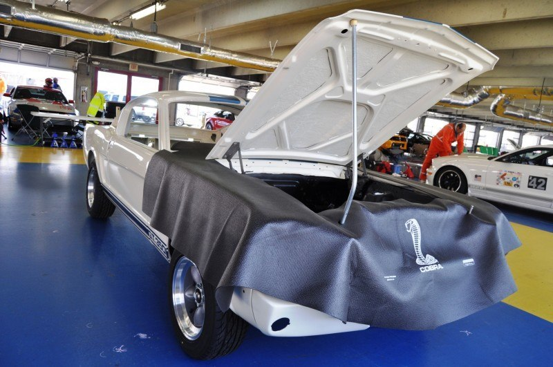 1966 Shelby Mustang GT350 Racecar Awaits Engine Buildout at Charlotte Motor Speedway 9