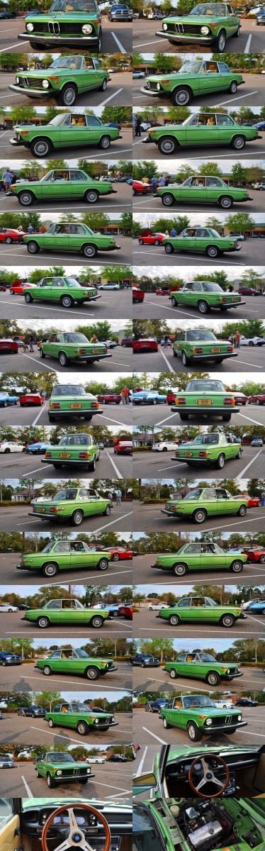 1976 BMW 2002 - Seafoam Green with Flawless Bodywork, Updated Wheels and Comfy New Seats 1-tile
