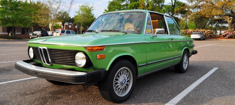 1976 BMW 2002 - Seafoam Green with Flawless Bodywork, Updated Wheels and Comfy New Seats 3