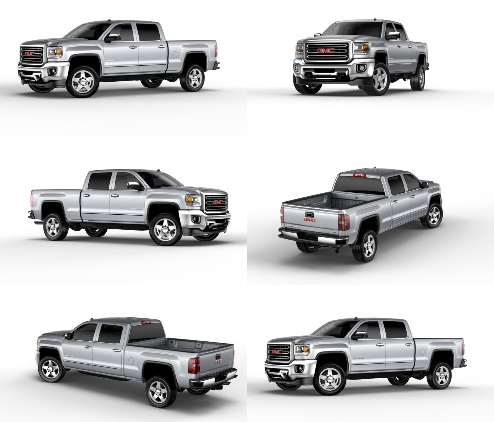 Latest GMC Sierra 2500HD Denali And 3500HD Bring Class