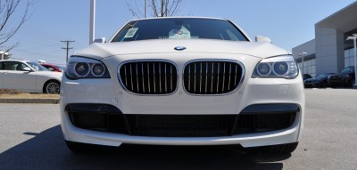 2014 BMW 750Li Definitely Not Beautiful or Focused -- But Less Adrift as SWB 750i with Squared-Off LED Lights Option 10