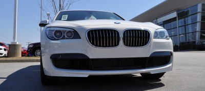 2014 BMW 750Li Definitely Not Beautiful or Focused -- But Less Adrift as SWB 750i with Squared-Off LED Lights Option 11