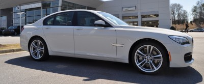 2014 BMW 750Li Definitely Not Beautiful or Focused -- But Less Adrift as SWB 750i with Squared-Off LED Lights Option 15