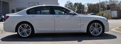 2014 BMW 750Li Definitely Not Beautiful or Focused -- But Less Adrift as SWB 750i with Squared-Off LED Lights Option 17
