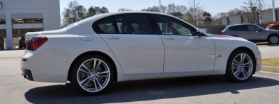 2014 BMW 750Li Definitely Not Beautiful or Focused -- But Less Adrift as SWB 750i with Squared-Off LED Lights Option 18