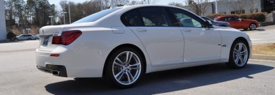 2014 BMW 750Li Definitely Not Beautiful or Focused -- But Less Adrift as SWB 750i with Squared-Off LED Lights Option 19