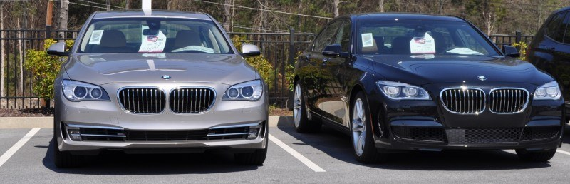 2014 BMW 750Li Definitely Not Beautiful or Focused -- But Less Adrift as SWB 750i with Squared-Off LED Lights Option 6