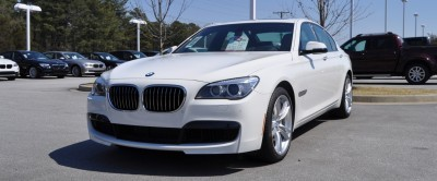2014 BMW 750Li Definitely Not Beautiful or Focused -- But Less Adrift as SWB 750i with Squared-Off LED Lights Option 8