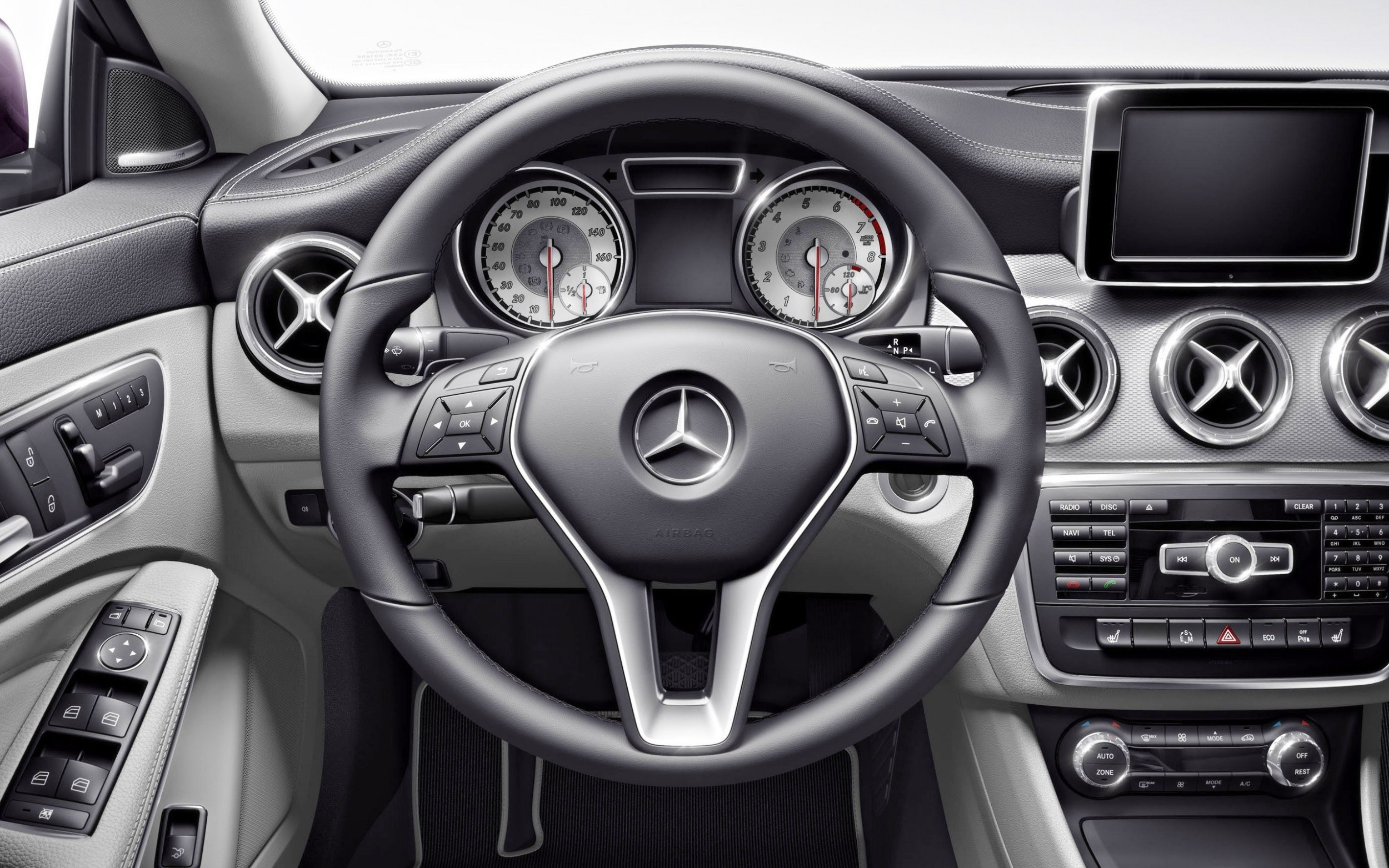 Mercedes Cla 250 Interior Images Galleries With A Bite