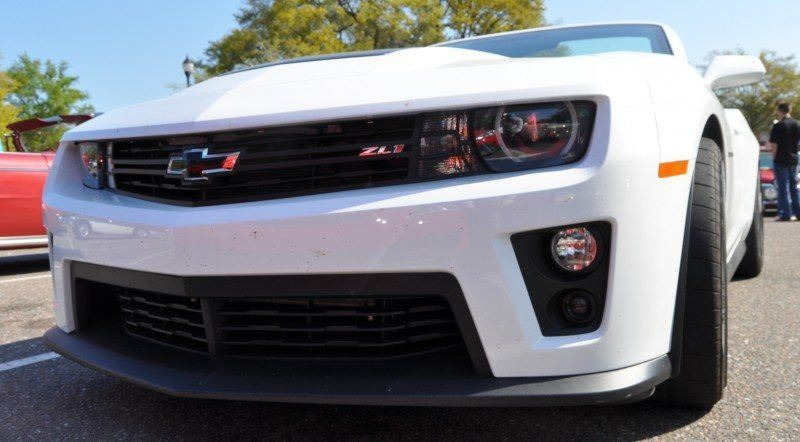2014 Camaro ZL1 Convertible Blasts Off in Wild Sprint Starts -- 2 In-Car and 1 HD GoPro Hood-mounted Video 15