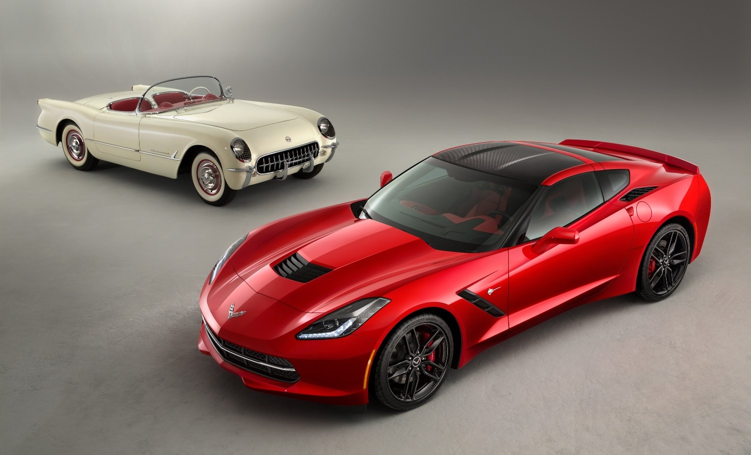 in fact the products - Corvette 2014 White
