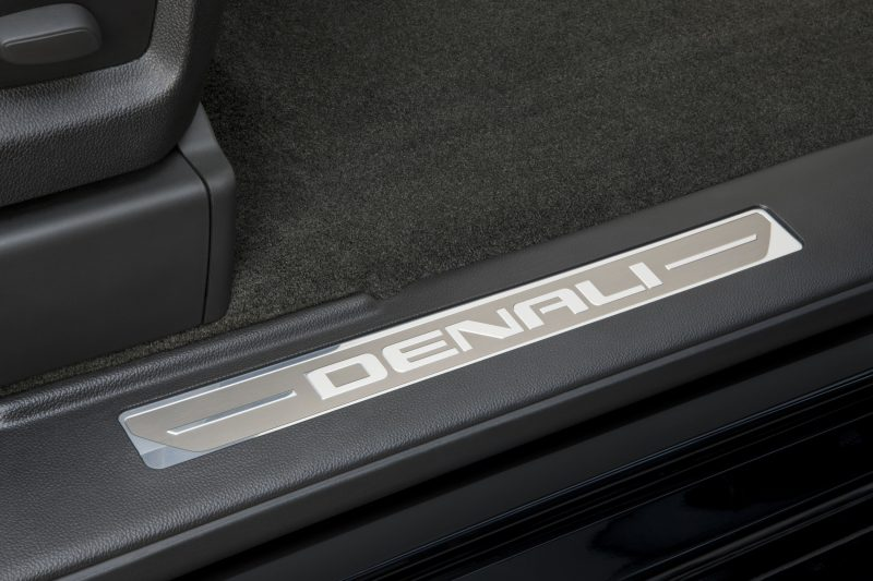 2014 GMC Sierra Denali Unique Script Door Sills