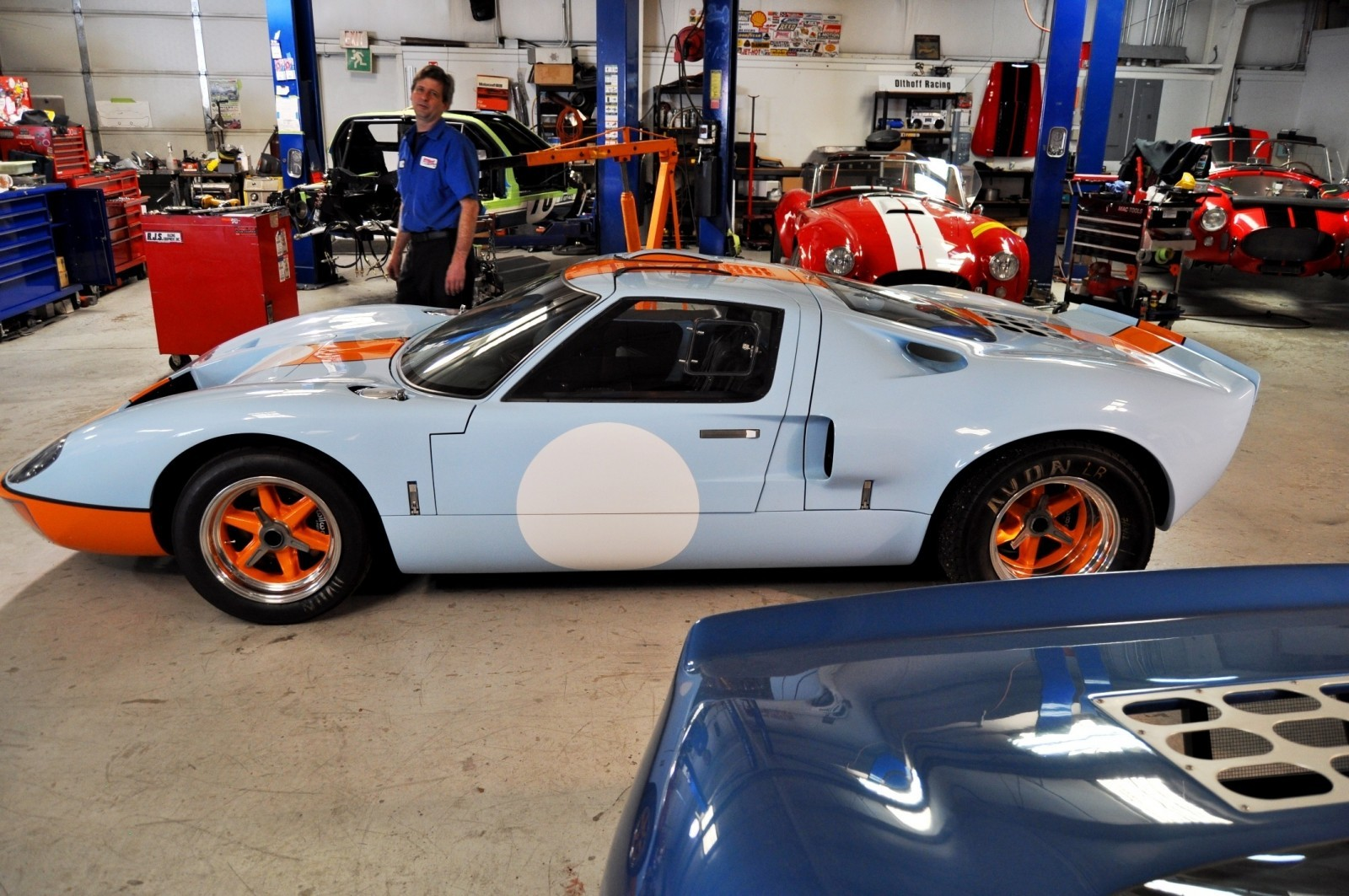 2014 Superformance GT40 Mark I - MEGA Photo Shoot and Ride-Along Videos 13