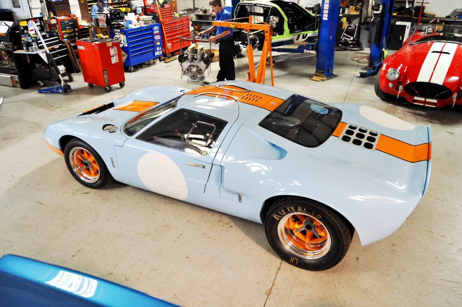 2014 Superformance GT40 Mark I - MEGA Photo Shoot and Ride-Along Videos 38