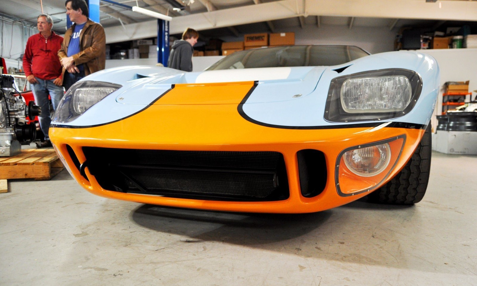 2014 Superformance GT40 Mark I - MEGA Photo Shoot and Ride-Along Videos 4