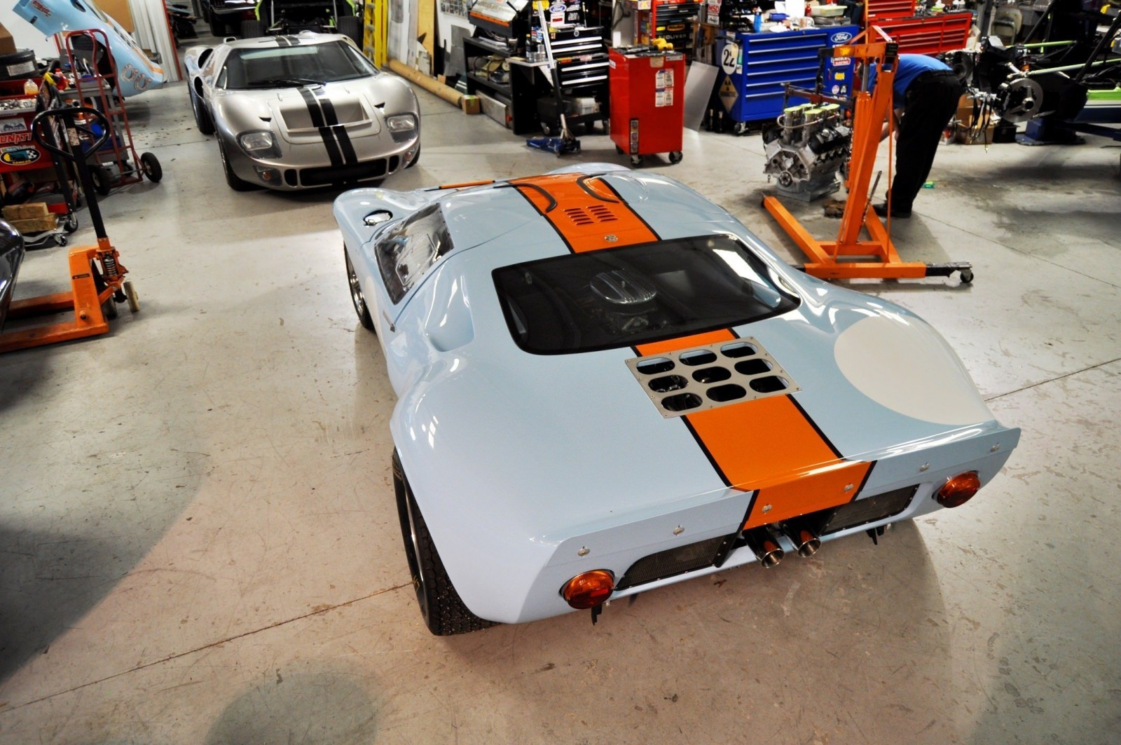 2014 Superformance GT40 Mark I - MEGA Photo Shoot and Ride-Along Videos 41