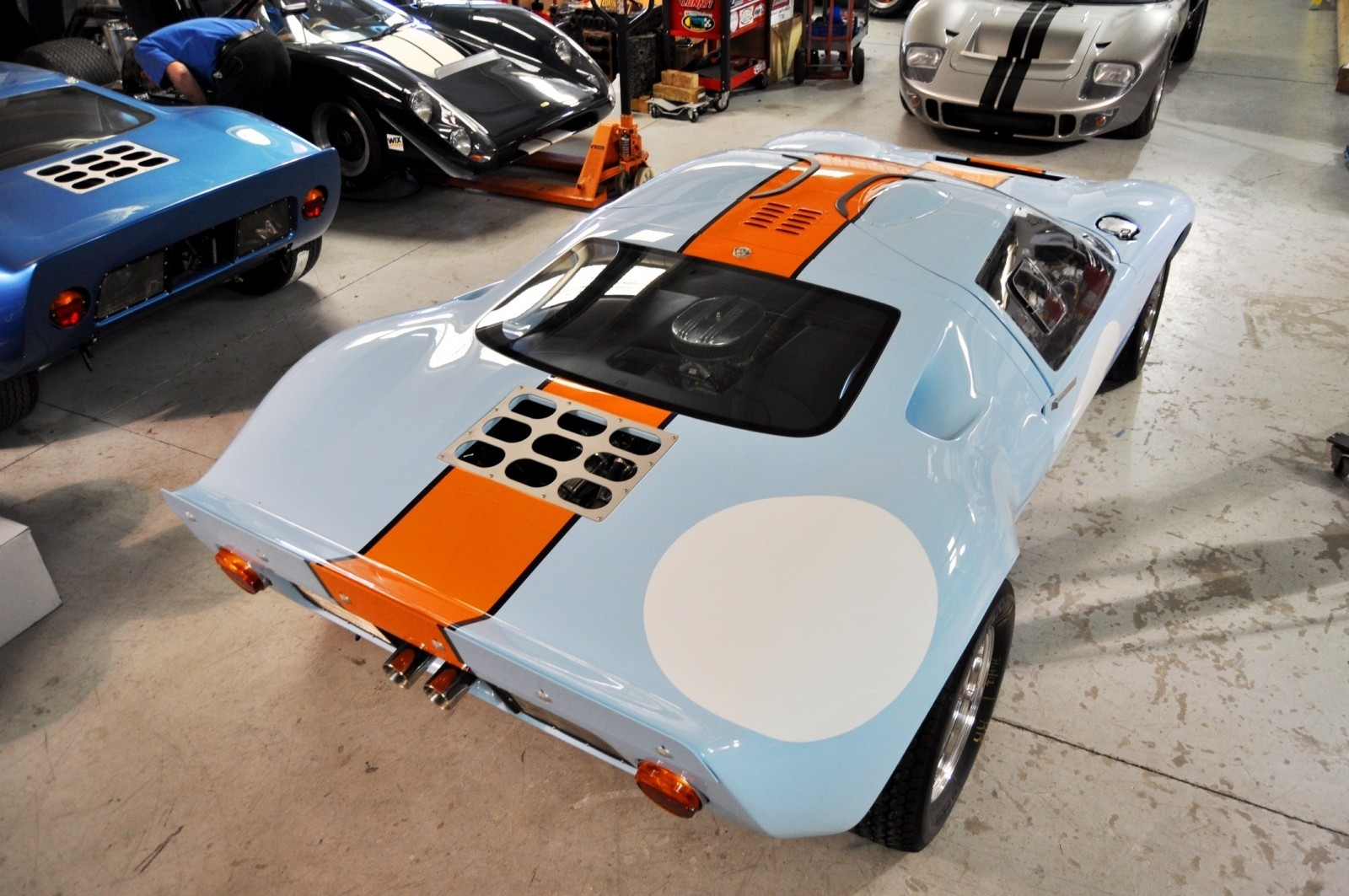 2014 Superformance GT40 Mark I - MEGA Photo Shoot and Ride-Along Videos 45