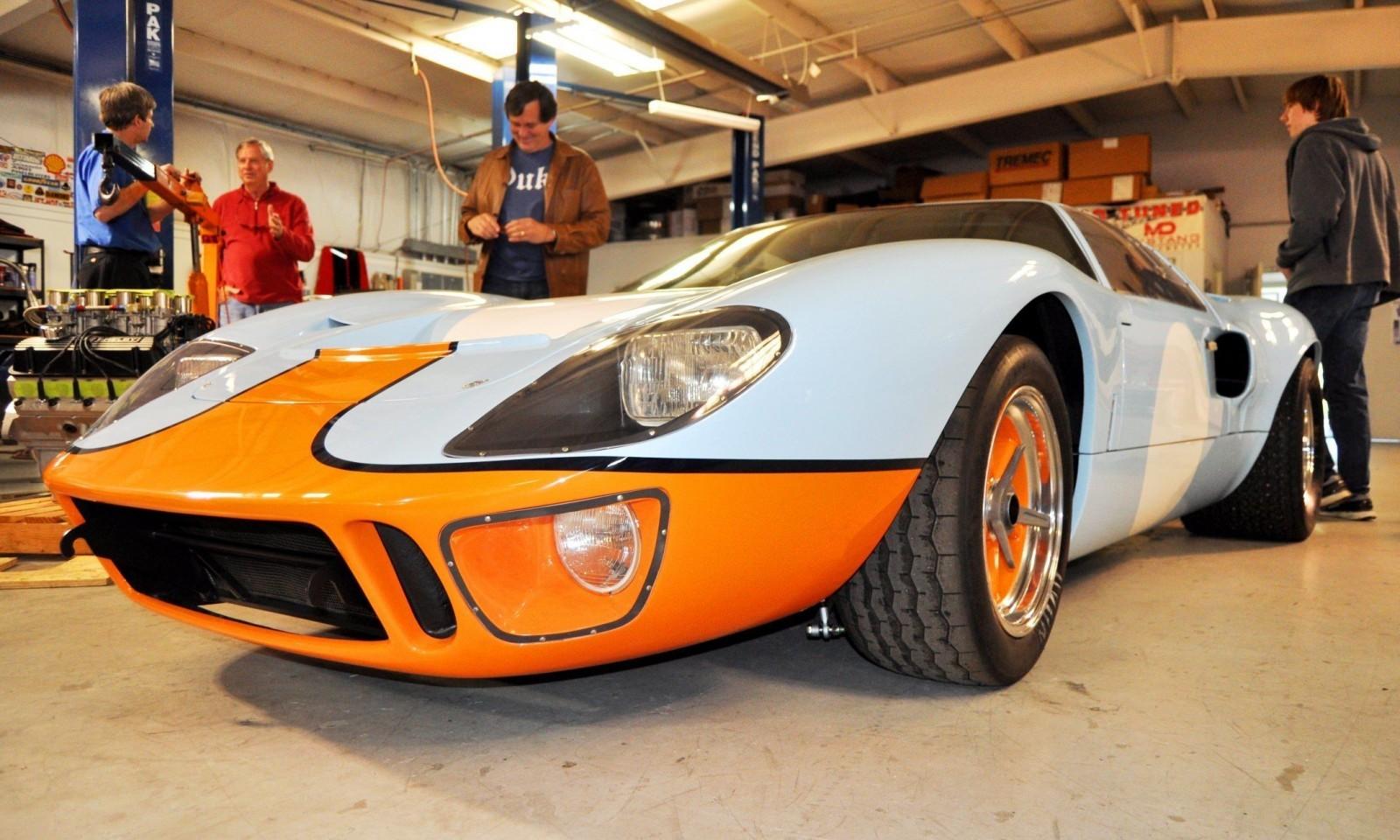 2014 Superformance GT40 Mark I - MEGA Photo Shoot and Ride-Along Videos 6