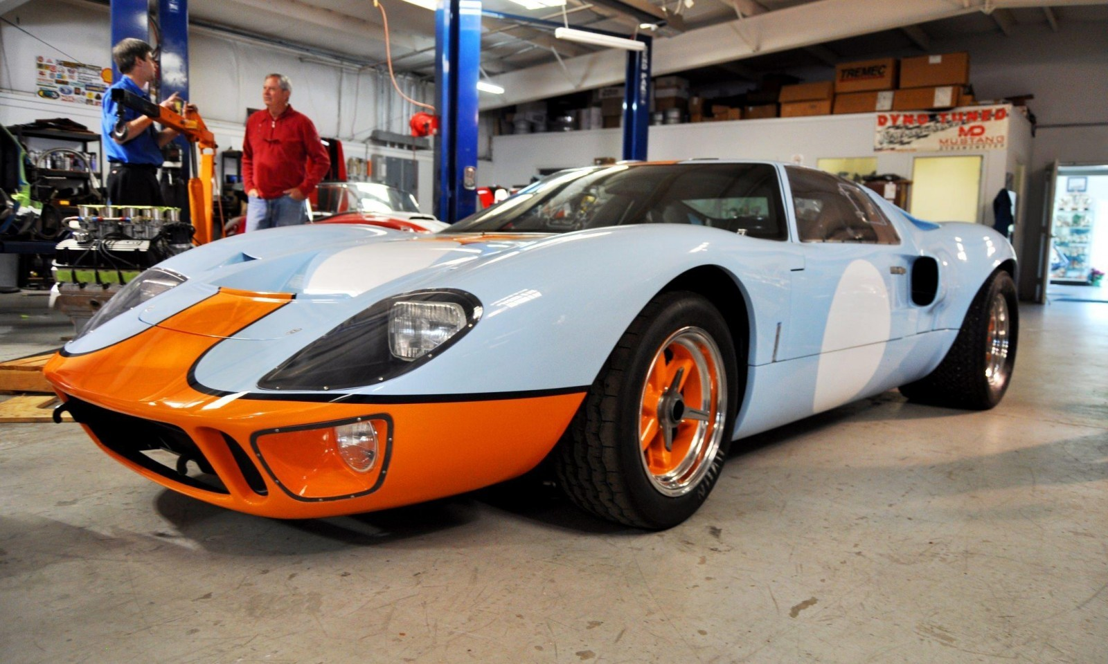 2014 Superformance GT40 Mark I - MEGA Photo Shoot and Ride-Along Videos 7