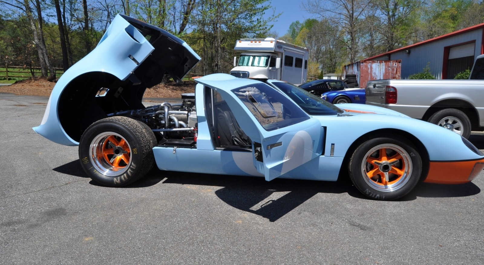 2014 Superformance GT40 Mark I - MEGA Photo Shoot and Ride-Along Videos 72