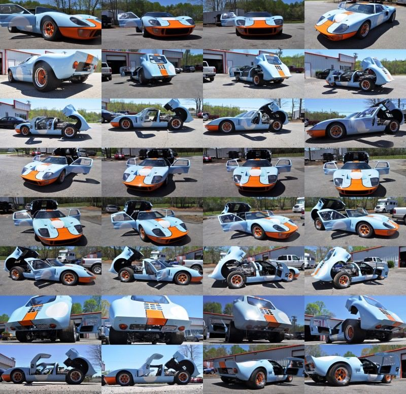 2014 Superformance GT40 Mark I - MEGA Photo Shoot and Ride-Along Videos 83-tile