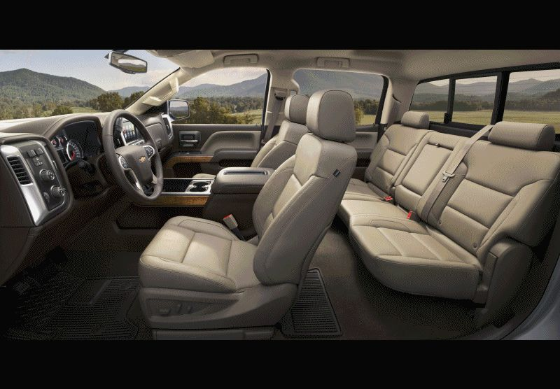 2015 Chevrolet Silverado HD Animated GIF