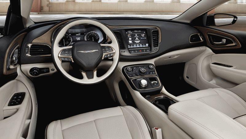 2015 Chrysler 200S INTERIOR GIF