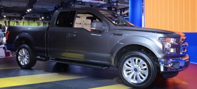 2015 Ford F-150 Platinum Is Disruptively Attractive in Real Life 14