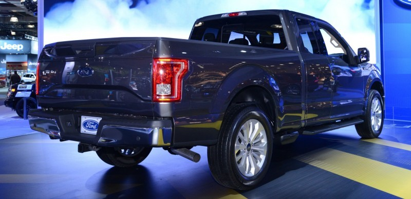 2015 Ford F-150 Platinum Is Disruptively Attractive in Real Life 15