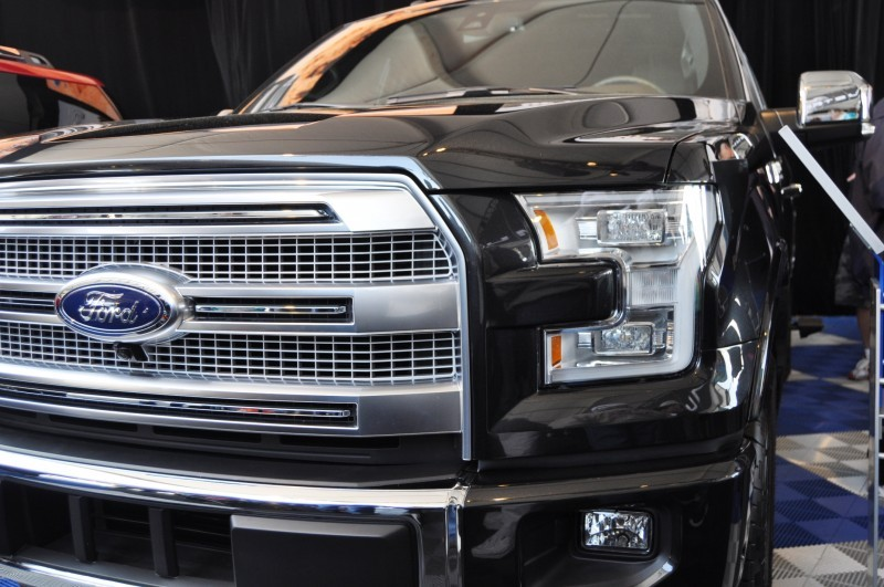 2015 Ford F-150 Platinum Is Disruptively Attractive in Real Life 19