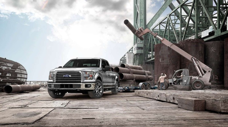 2015 Ford F-150 Platinum Is Disruptively Attractive in Real Life 2