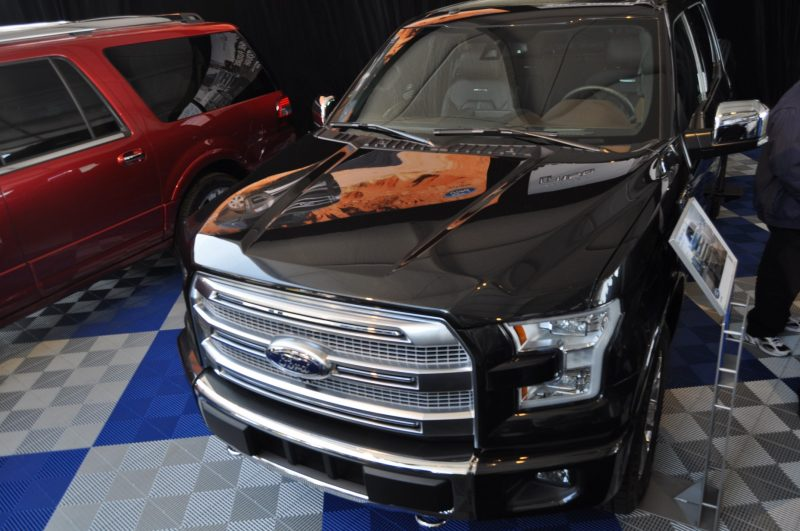 2015 Ford F-150 Platinum Is Disruptively Attractive in Real Life 20