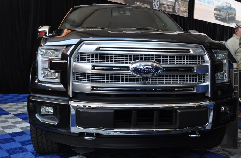 2015 Ford F-150 Platinum Is Disruptively Attractive in Real Life 22